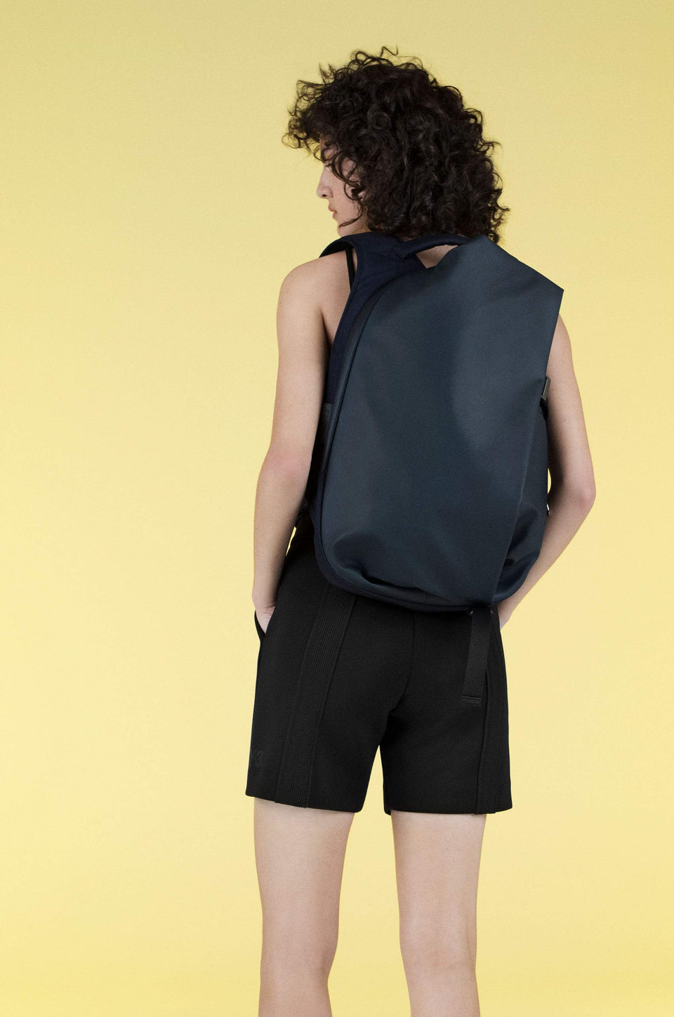 Isar Small Obsidian Blue Backpack Backpack côte&ciel - der ZEITGEIST
