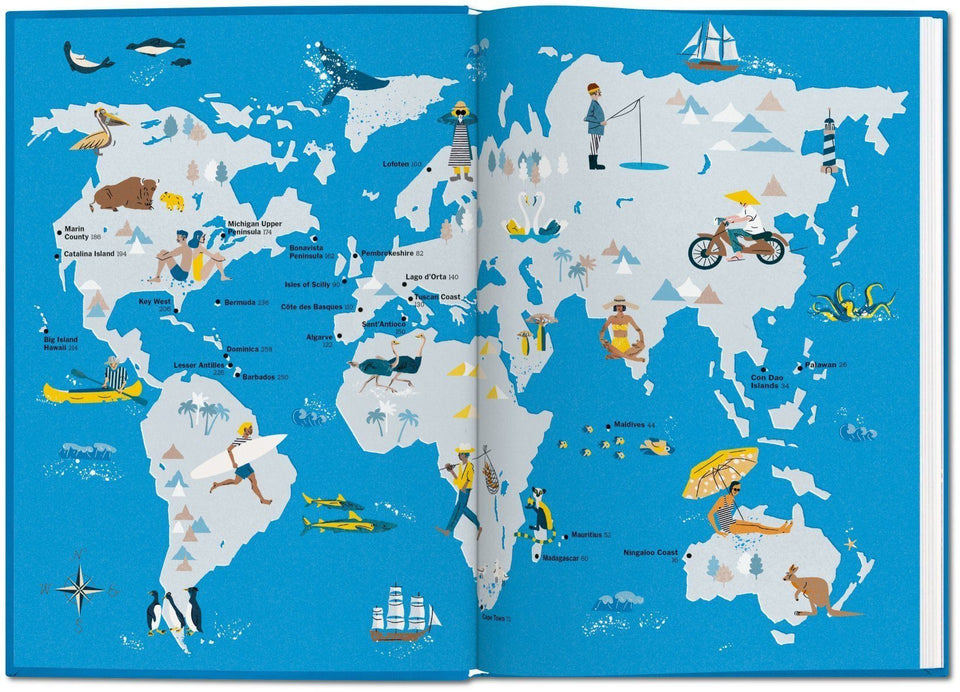 NYT Explorer. Beaches, Islands & Coasts Books Taschen - der ZEITGEIST