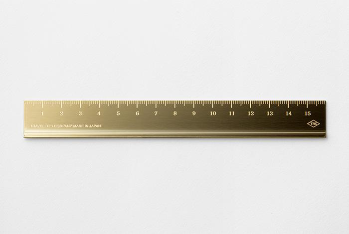 Traveler's Brass Ruler Stationary Traveler's Company - der ZEITGEIST