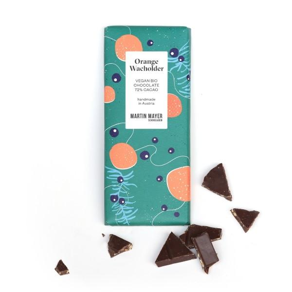 Orange Juniper 72% Dark Chocolate (V)