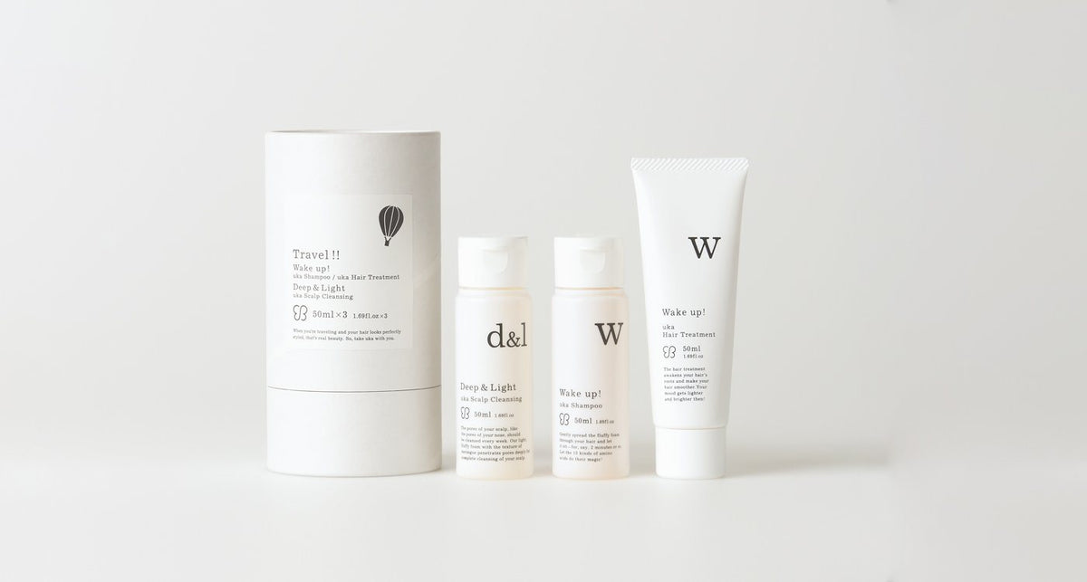 Wake Up! Trio Travel Set