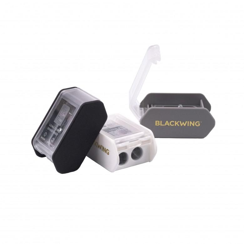Blackwing Two-Step Long Point Pencil Sharpener - Black