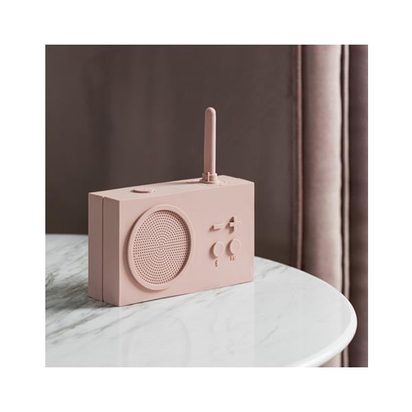 TYKHO 3 FM Radio + Bluetooth Speaker - Pink