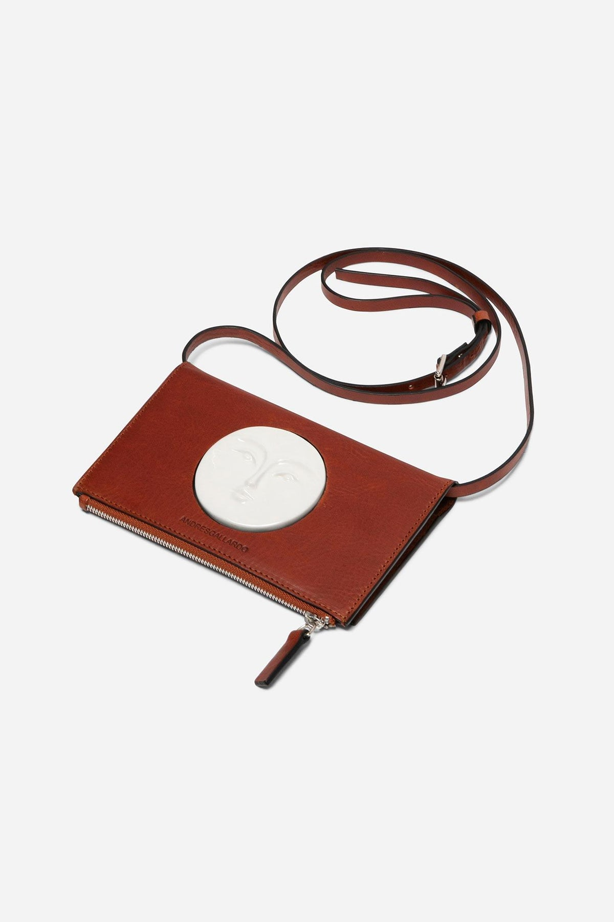 Moon Wallet Bag - Brandy