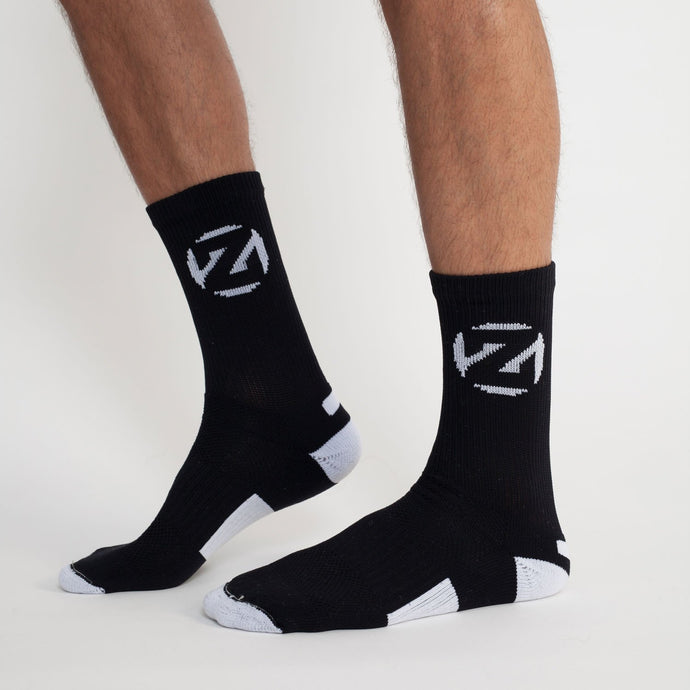 'CIRCLE Z' SOCKS - BLACK