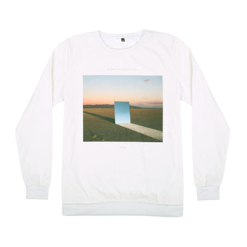 'STAY' CUT & SEW CREWNECK SWEATER