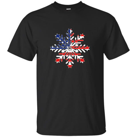 Patriotic Snowflake - Liberal / Democratic Tshirt for July 4