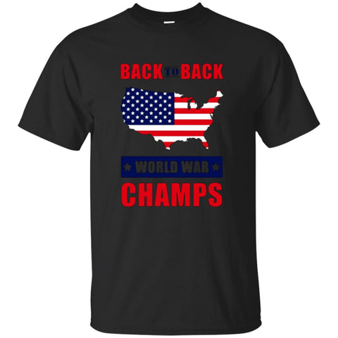 National Independence Day T-Shirt, America World War Champs