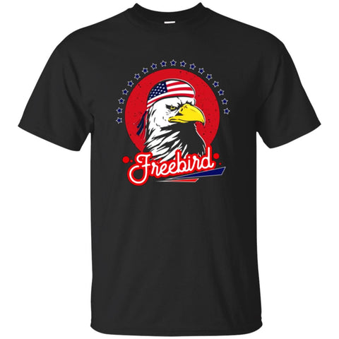 Merica Mullet Bald Eagle-USA Pride-4th of July T-Shirt