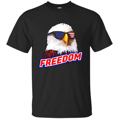 Retro Vintage 4th of July T-shirt, Bald Eagle Sunglasses