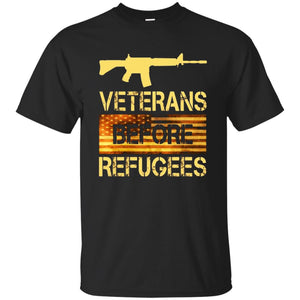 Veterans Before Refugees T-Shirt