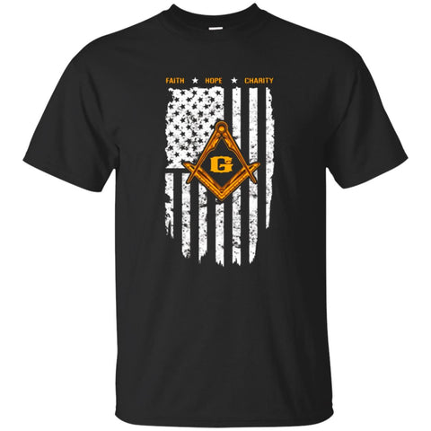 The Masonic Store: Freemason - US Flag T-Shirt 4th of July