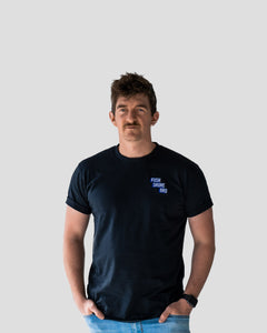 Fush Shore Bro Staff Tee (Navy)