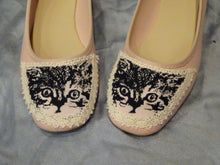Handmade Cat Shoes - Soft Pink