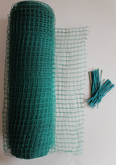 "Netting Rolls 330' x 18"" wide- Now Available. Great for Ice & Snow Protection! Buy Any 2 Products And Get Free Shipping!"