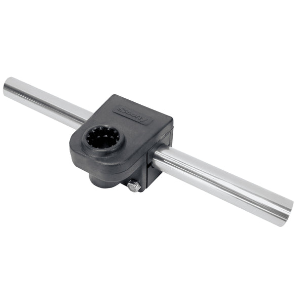 "Scotty 287 Round Rail Mount For 7-8"" Round Rails [287]"