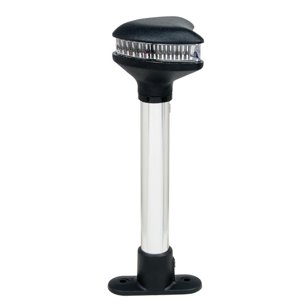 "Perko Stealth Series - Fixed Mount All-Round LED Light - 4-1-2"" Height [1608DP1BLK]"