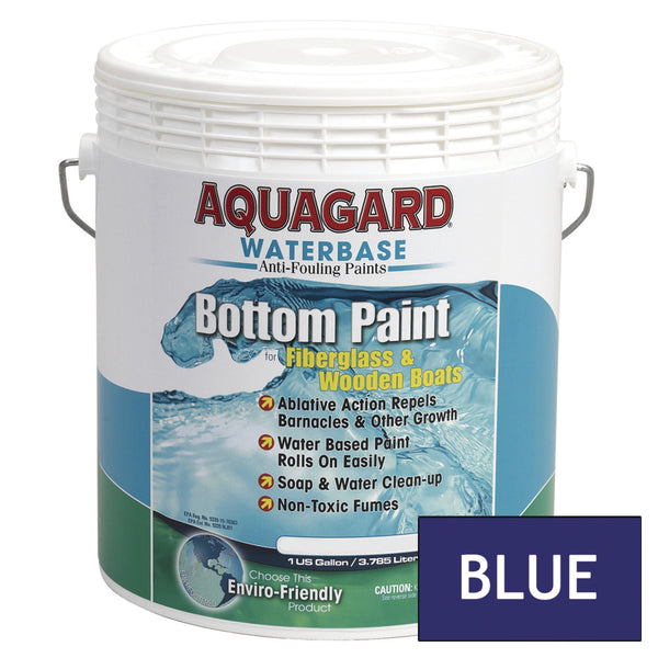 Aquagard Waterbased Anti-Fouling Bottom Paint - 1Gal - Blue [10103]