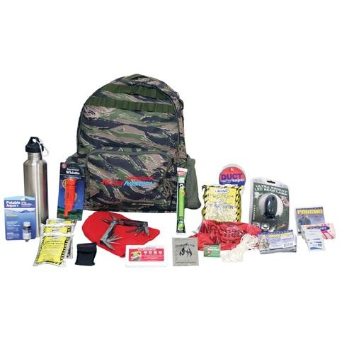 Ready America Deluxe Outdoor Survival Kit 4-Person