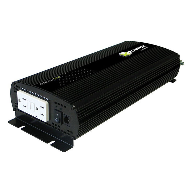 Xantrex XPower 1500 Inverter GFCI & Remote ON-OFF UL458 [813-1500-UL]
