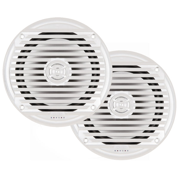 "JENSEN MS6007WR 6.5"" Coaxial Marine Speaker - (Pair) White [MS6007WR]"