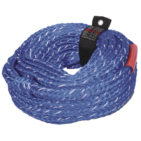 AIRHEAD Bling 6 Rider Tube Rope - 60' [AHTR-16BL]
