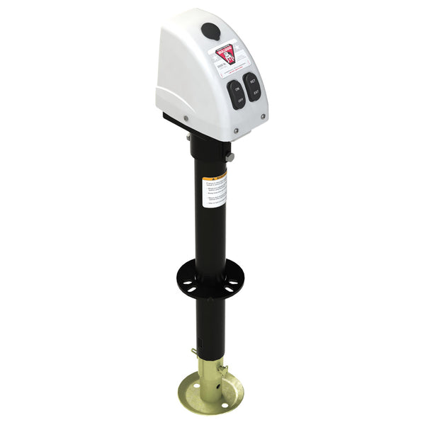 Bulldog 3,500lbs A-Frame RV Jack w-Powered Drive - 12V - White Cover [500188]