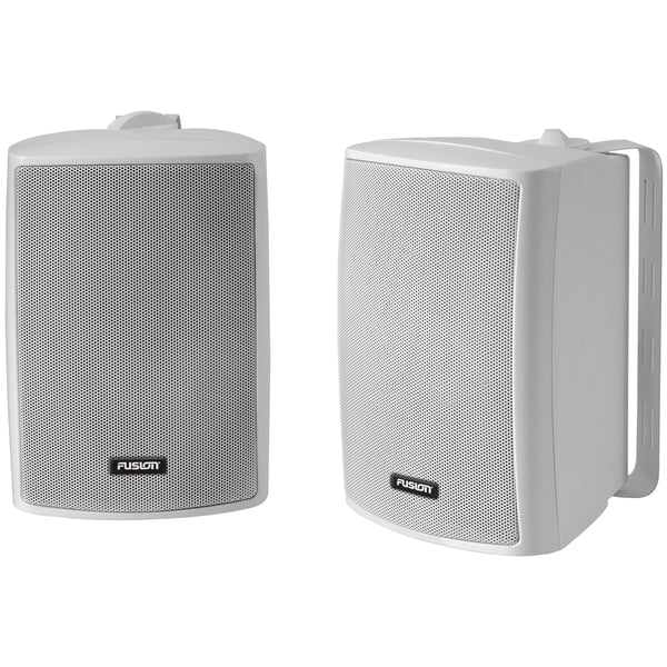 "FUSION 4"" Compact Marine Box Speaker - (Pair) White [MS-OS420]"