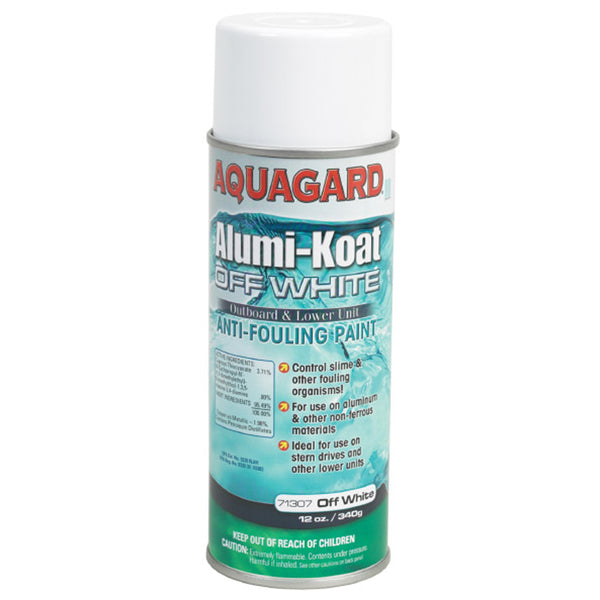 Aquagard II Alumi-Koat Spray f-Outboards & Outdrives - 12oz - White [71307]