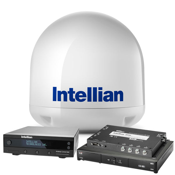 "Intellian i3 US System w-14.6"" Reflector, MIM Switch & DISH HD Receiver [B4-I3DNSB]"
