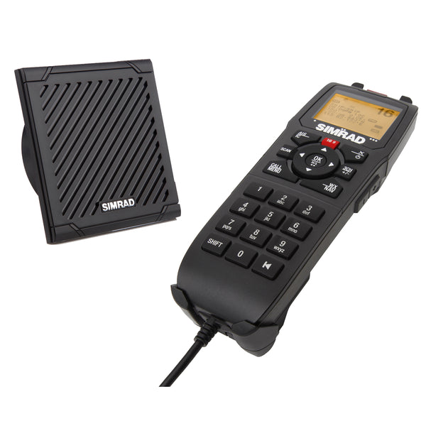 Simrad RS90 Handset & Speaker Kit - Comes w-5M(16.5') Cable [000-11226-001]