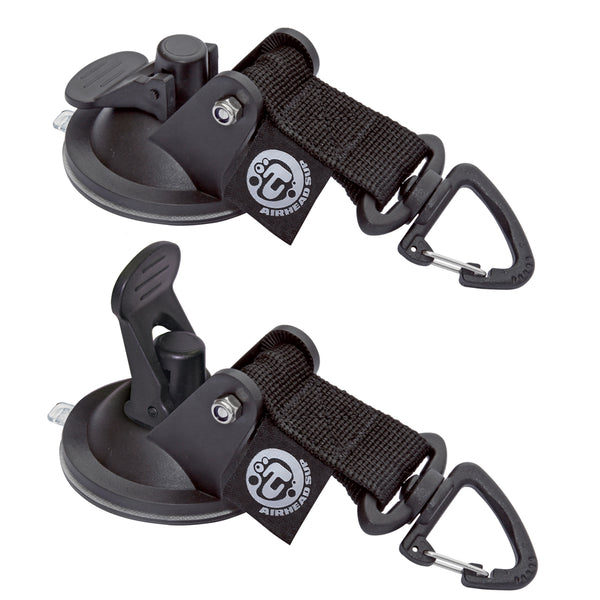 AIRHEAD SUP Suction Cup Tie Downs - 2-Pack [AHSUP-A010]