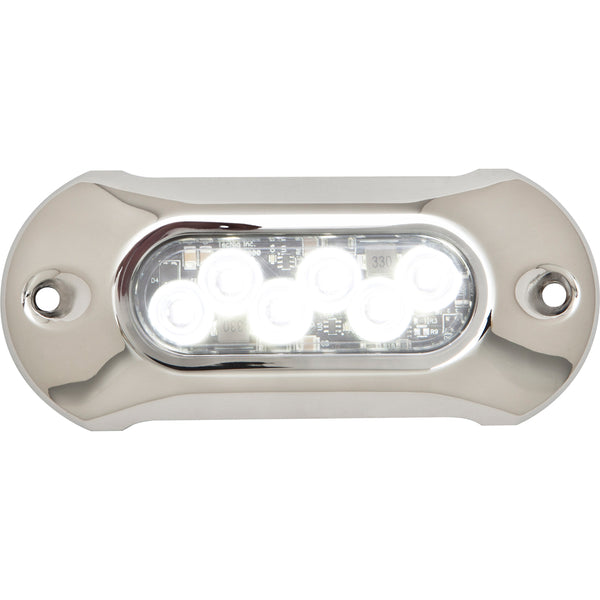 Attwood Light Armor Underwater LED Light - 6 LEDs - White [65UW06W-7]