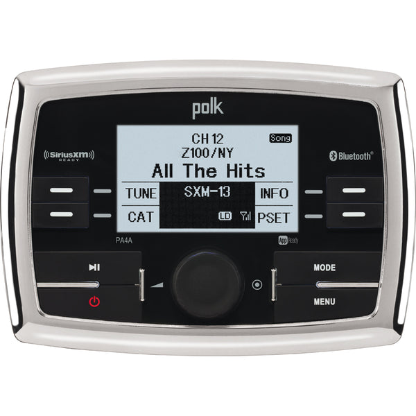 Polk Audio UltraMarine WB-USB-SiriusXM Ready-iPod & iPhone Ready-Bluetooth w-App Control [PA4A]