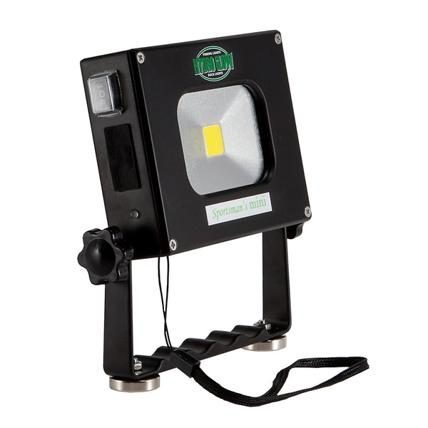 Hydro Glow SM10+ 10W Personal Flood Light w-Handle - USB Rechargeable [SM10+]