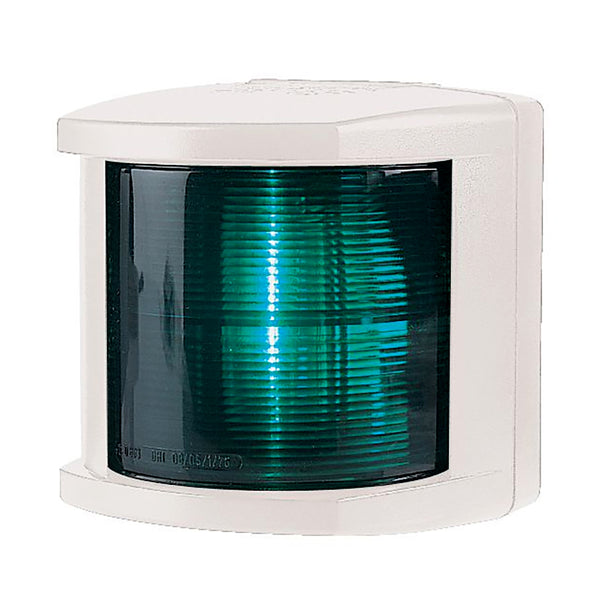 Hella Marine Starboard Navigation Light - Incandescent - 2nm - White Housing - 12V [002984395]