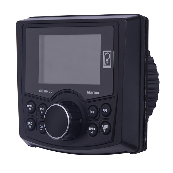 Poly-Planar MP4-MP3-Photo Playback Gauge Series Marine Radio [GSMR30]