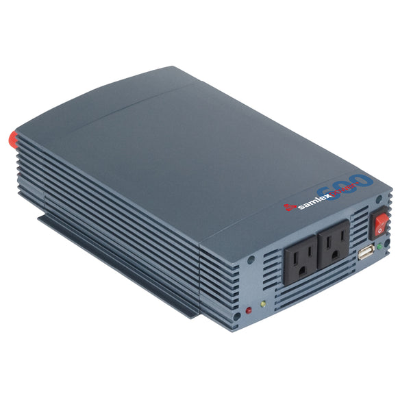 Samlex 600W Pure Sine Wave Inverter - 12V w-USB Charging Port [SSW-600-12A]