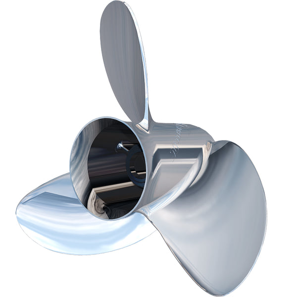 "Turning Point Express Mach3 Left Hand Stainless Steel Propeller - OS-1613-L - 3-Blade - 15.625"" x 13"" [31511320]"