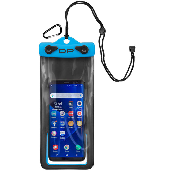 "Dry Pak Cell Phone Case - 4"" x 8"" - Electric Blue [DP-48EB]"