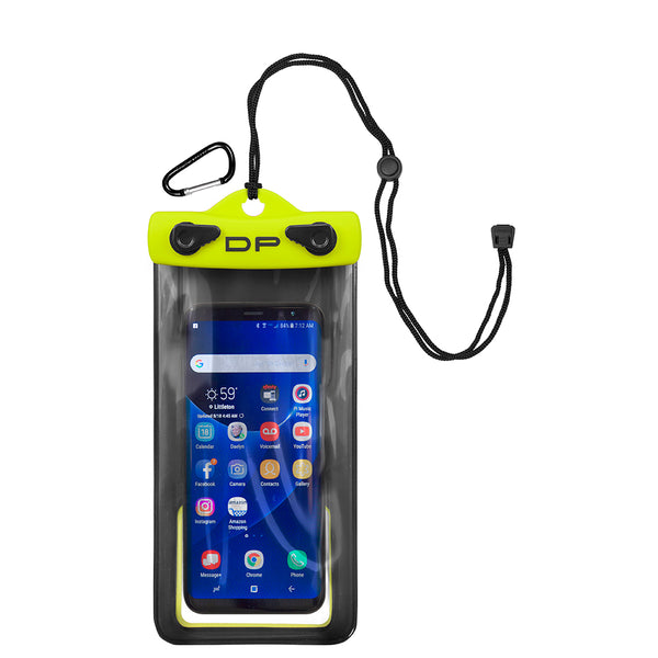 "Dry Pak Smartphone, GPS, MP3 Case - 4"" x 7"" - Lemon Lime [DP-47LL]"