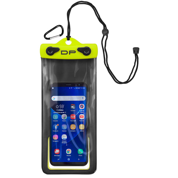 "Dry Pak Cell Phone Case - 4"" x 8"" - Lemon Lime [DP-48LL]"
