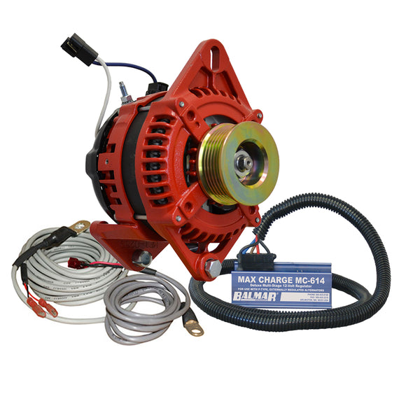 Balmar AT Series Alternator Charging Kit - 165A - 12V [AT-DF-165-K6-KIT]
