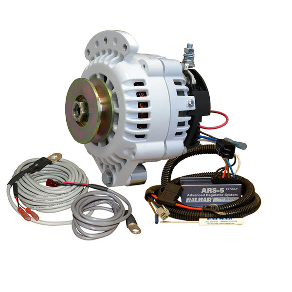 Balmar 621 Series Alternator - Spindle Mount(Single Foot) Charging Kit - 70A - 12V [621-VUP-70-SV]
