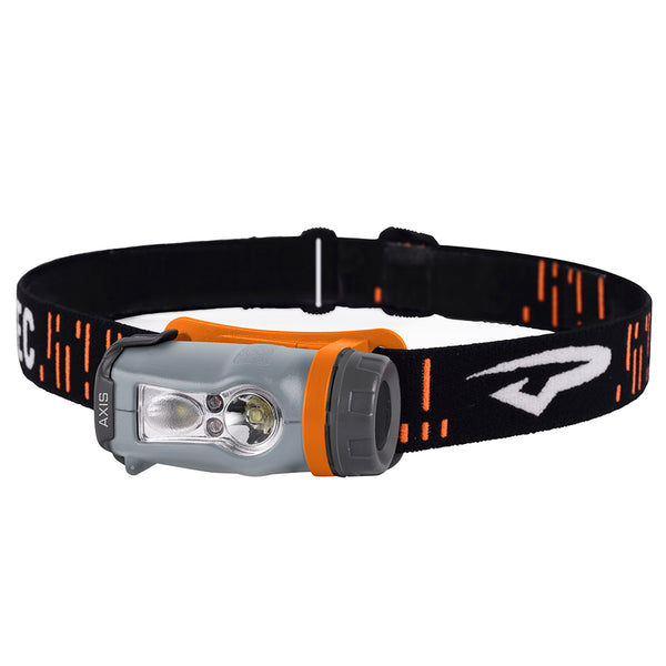 Princeton Tec Axis LED HeadLamp - Orange-Grey [AX-OR]