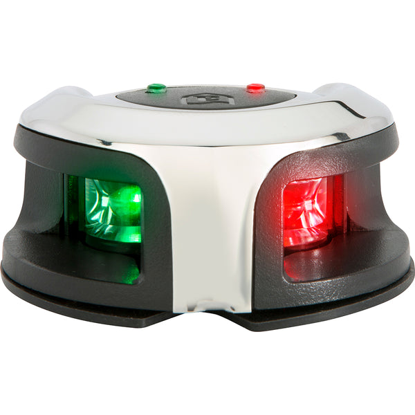 Attwood LightArmor Bow Mount Navigation Light - Stainless Steel - Bi-Color - 2NM [NV2002SS-7]