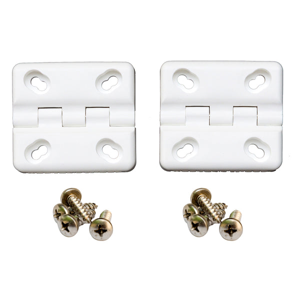 Cooler Shield Replacement Hinge f-Coleman  Rubbermaid Coolers - 2 Pack [CA76312]