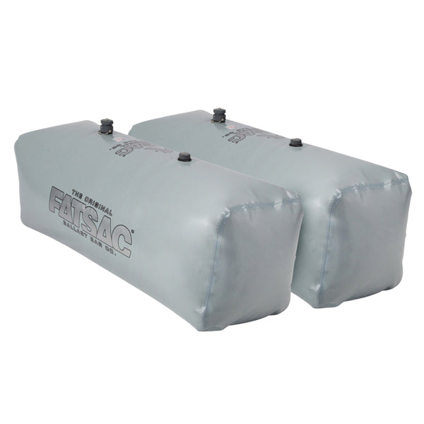 FATSAC V-drive Fat Sacs - Pair - 400lbs Each - Gray [W701-GRAY]