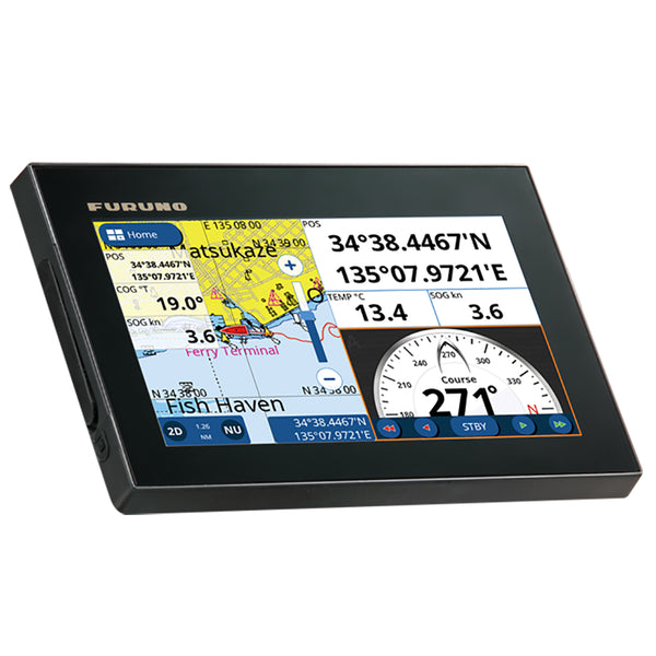 "Furuno GP1871F 7"" GPS-Chartplotter-Fishfinder 50-200, 600W, 1kW, Single Channel  CHIRP [GP1871F]"