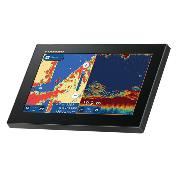 "Furuno GP1971F 9"" GPS-Chartplotter-Fishfinder 50-200, 600W, 1kW, Single Channel  CHIRP [GP1971F]"